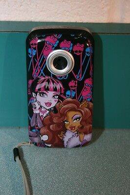Monster High (38648-AMZ) Snapshots Digital Video Camcorder with 1.5-Inch LCD Scr