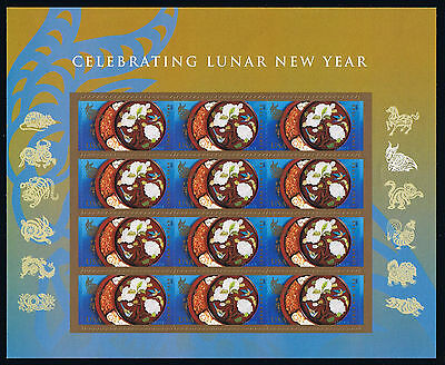US Year of the Sheep / Ram Postage Stamp Mini Sheet Issue