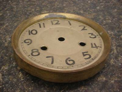 "Old Vintage Gilbert Thomas New Haven 5-1/2""  Mantel Clock Dial     D037h"