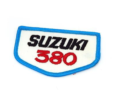NOS Vintage Suzuki 380 Patch - Street Dirt Motocross Motorcycle 70's 80's