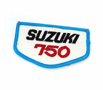 NOS Vintage Suzuki 750 Patch - Street Dirt Motocross Motorcycle 70's 80's