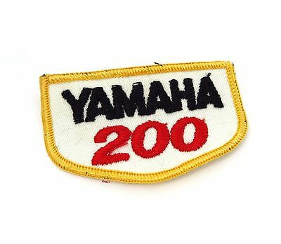 NOS Vintage Yamaha 200 Patch - Street Dirt Motocross Motorcycle 70's 80's