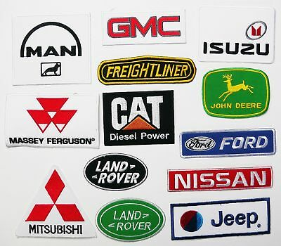 COMMERCIALS & AGRICULTURAL VEHICLES PATCH SHOP - Patches Just £1 Each, Free Post