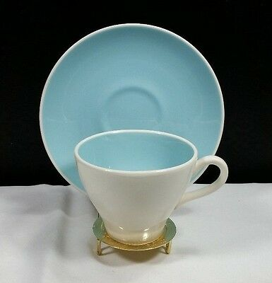 Harker China Petit Fleurs (Round-Smooth Edge Pattern Cup and Saucer