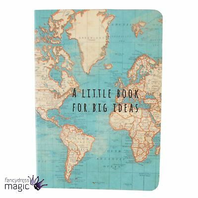 Sass And Belle Vintage World Map Atlas Mini Notebook A Little Book For Big Ideas