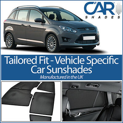 Ford Grand C-Max 5dr (Sliding rear doors) 2010 On CAR WINDOW SUN SHADE BABY SEAT
