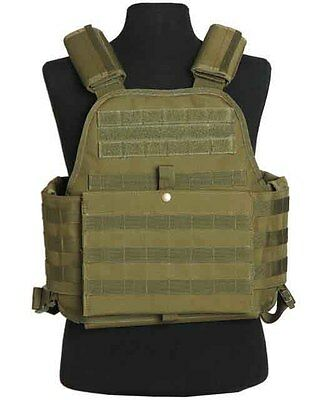 Plate Carrier weste oliv, Weste, Wachschutz, Security, SWAT, Painball   -NEU-