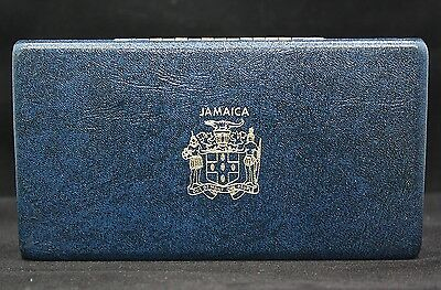 Jamaica 1971 6 Coins Proof Set Coins With Error Cent.
