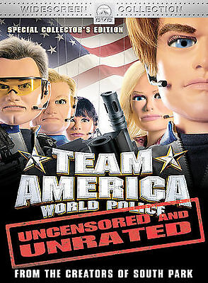 Team America (DVD, 2005, Widescreen Collection/Unrated) BRAND NEW