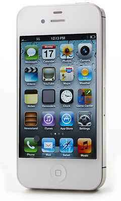 New Apple iPhone 4S 16GB White Factory Unlocked GSM
