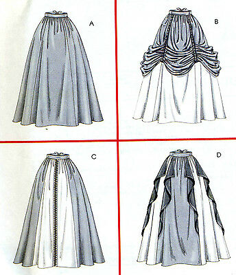 2003 Renaissance Skirt Costumes Pattern Size 10/12/14/16 McCall's 4090 OOP