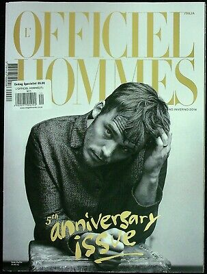 L'OFFICIEL HOMMES ITALIA #11 5th Anniversary SAM CLAFLIN Mathias Lauridsen @NEW@