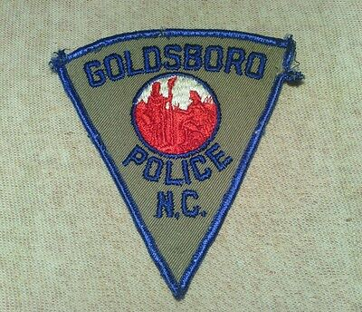 NC City of Goldsboro North Carolina Police Patch 2