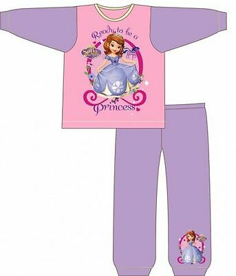 GIRLS  Official DISNEY PRINCESS SOFIA PYJAMAS 12 MONTHS - 4 YEARS