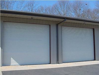 14x10 DBCI Commercial 2750 Series RollUp Door w/Hardware & Chain Hoist Insulated