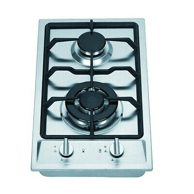 Brand New Elfa 30cm 2 Burner Stainless Steel Gas Cooktop