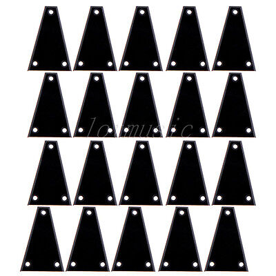 20pc High Quality Black Plastic Electric Guitar Truss Rod Cover