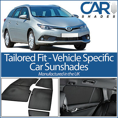 Toyota Auris Estate 12-18 CAR WINDOW SUN SHADE BABY SEAT CHILD BOOSTER BLIND UV