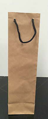 Kraft bags set of 5,10,15,25 for wine bottles or gift wrapping or craft parties
