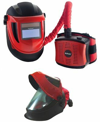Welding Mask Air Fed System, Weltek Navitek S4, Complete Inc. charger & battery