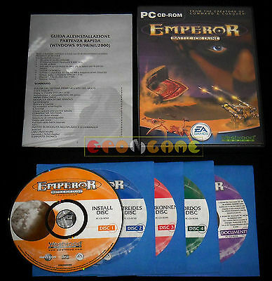 EMPEROR BATTLE FOR DUNE Pc Versione Ufficiale Italiana ••••• COMPLETO