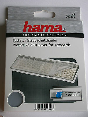 Hama Protective Dust Cover For Keyboards Waterproof 42200