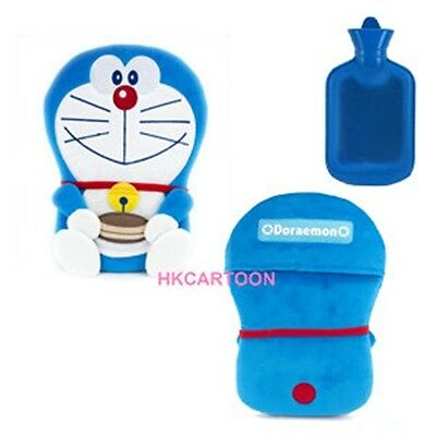 Doraemon 2D Plush Cushion W/ 750Ml Hot Water Bottle D03-6304-1