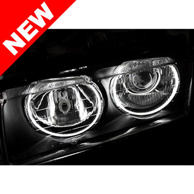 Bmw E36 Helix/depo Zkw Euro Projector Headlights W/ Thinline Ccfl Angel Eyes