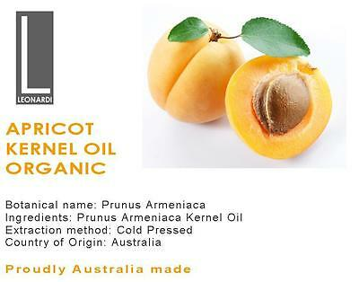 Apricot Kernel Oil Organic 100% Pure Natural Base Carrier Oil 500Ml
