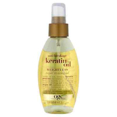 Organix Anti-Breakage Keratin Oil Instant Repair Weightless Healing Oil 118Ml