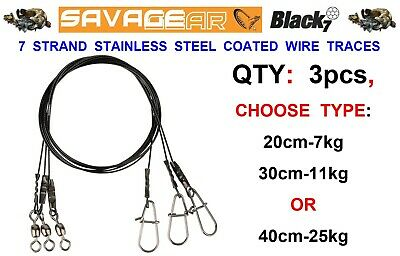 Savage Gear Raw49 Lure Trace 20cm 7kg 3pcs per pack crazy price 54866