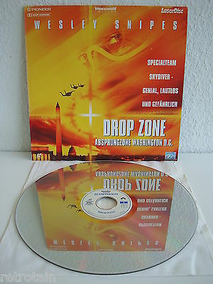 Drop Zone - Absprungzone Washington | Laserdisc PAL Deutsch CLV | Fast Wie Neu