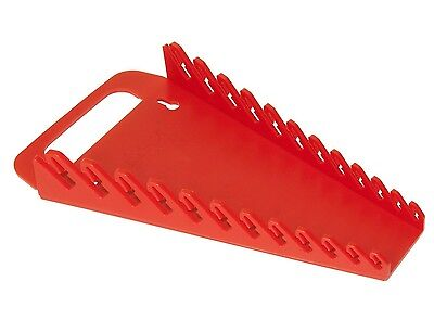 "ERNST 5015  12 Tool ""GRIPPER"" Wrench Organizer - Red"