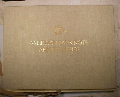 American Banknote Company Archive Series 1990 Limited edition Vol 4
