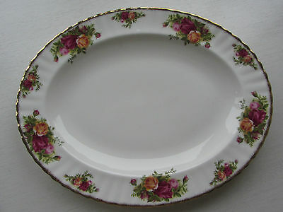 ROYAL ALBERT OLD COUNTRY ROSES LARGE OVAL PLATTER 1ST QUALITY VGC