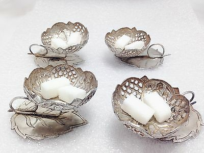 Antique Sterling Silver Sugar Pot Bowl Handmade Personal Pot Rare Collectible