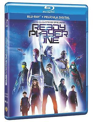 Ready Player One  BLU RAY  ESPAÑOL NUEVO PRECINTADO CASTELLANO