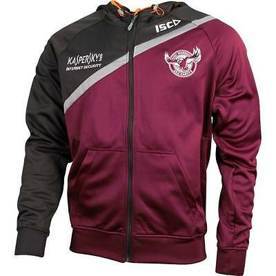 Manly Sea Eagles ISC 2015 NRL Players Tech Hoody Size S-5XL! BNWT's!