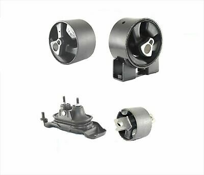 2008-2010 Chrysler Town & Country 3.3L 3.8L Engine Motor Mounts 4Pc Kit
