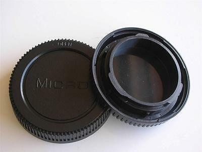 Olympus Panasonic Micro 4/3 Fitting Body And Rear Lens Cap