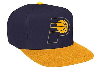 INDIANA PACERS Mitchell & Ness Snapback Cap NBA Adjustable Hat Snap