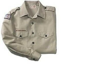 Boy Scout Official Bsa Uniform Shirt Youth Sz S 6-8  L 14-16 Xl 18-20 Xxl 22-24