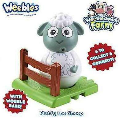 Weebledown Farm Weebles Figure And Base Fluffy The Sheep (Ages 18Mths+) *NEW*