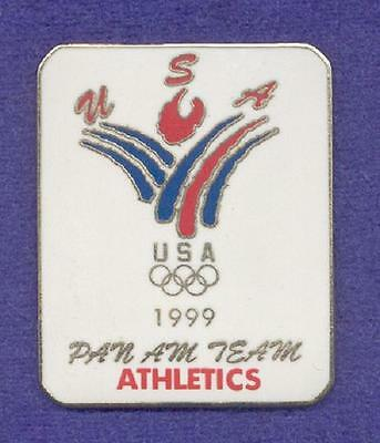 USA USOC Athletics Track & Field Team Pan Am National Olympic Committee NOC Pin