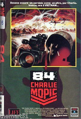 84 Charlie Mopic (1989) VHS Life 1a Ed.