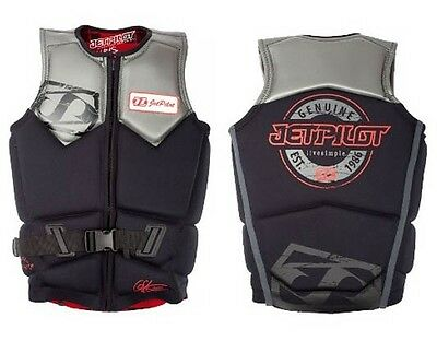 JetPilot CHRIS O'SHEA Watersports Wakeboard Impact Vest. 50586 Sale!