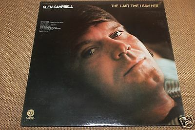 Glen Campbell The Last Time I Saw LP From Publishing Co Vault  Unopen Box SEALED