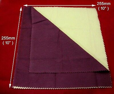 Buffing and Jewelery Polishing Cloth - Gold, Silver, Nickel & All Other Metals