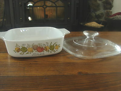 Corning Ware Spice-O-Life A-1 1Quart Casserole with Lid
