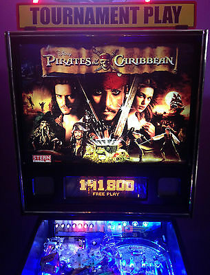 Pirates of the Caribbean pinball  (ALL LED lights & LED buttons)